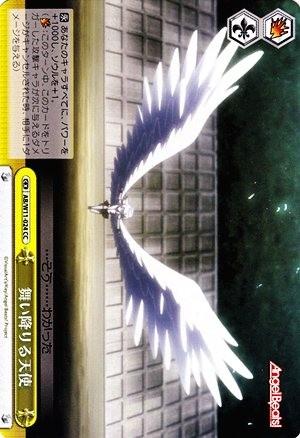 舞い降りる天使